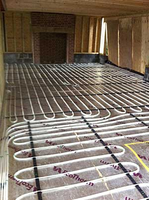 Comunder Floor Heating Uk : Underfloor heating can be used with any heat source including standard ...